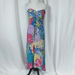 Derek Heart Strapless Maxi dress